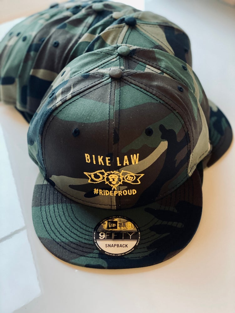 Image of Bike Law 9FIFTY Snapback - Camo