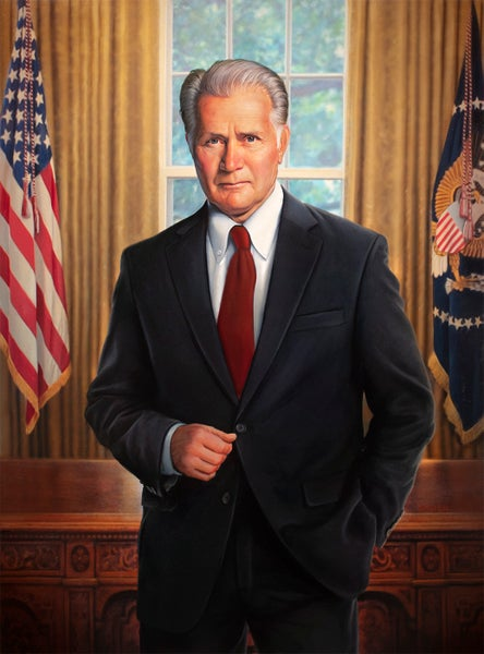 """Image of 'President Bartlet' 11"""" X 14"""" Archival Print"""