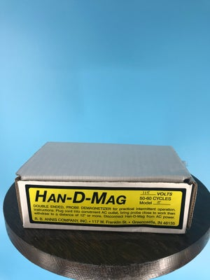 Image of Burlington Recording Model 115-S (Short) Hand Demagnetizer (North American Model)