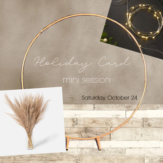 Image of Holiday Card Mini Session - Saturday, October 24