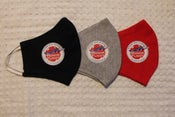Image of 3-pack of Face Masks - Stars and Stripes Honor Flight Logo -- Back in Stock!!!