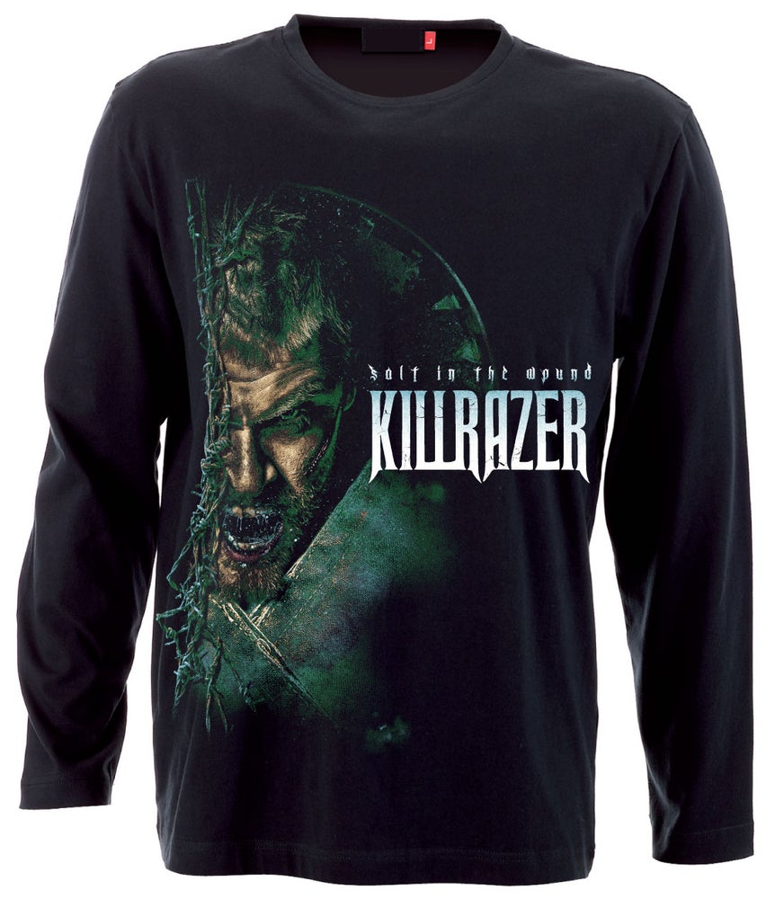 Image of LONGSLEEVE T'SHIRT - Killrazer 'Salt In The Wound'