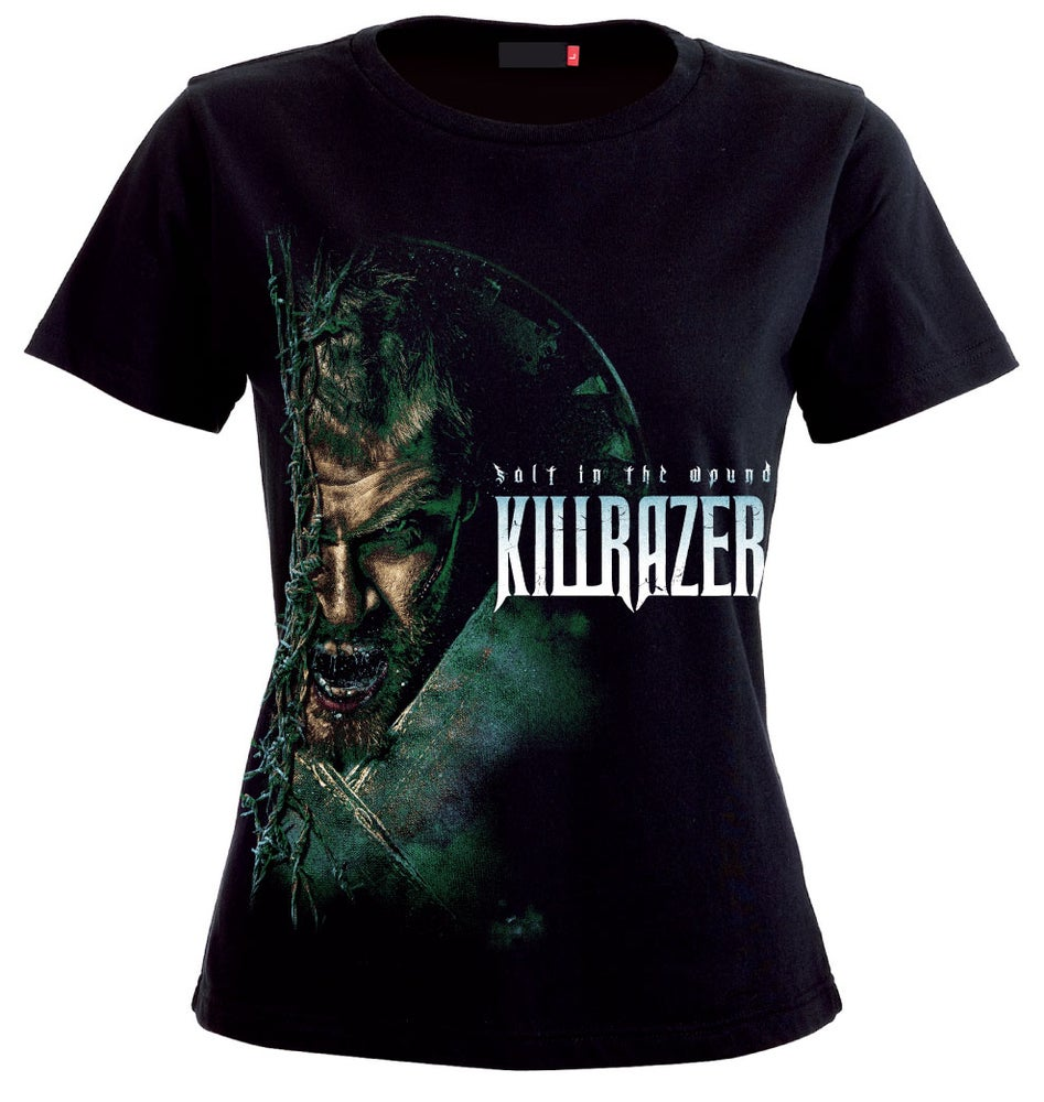 Image of LADIES T'SHIRT - Killrazer 'Salt In The Wound'