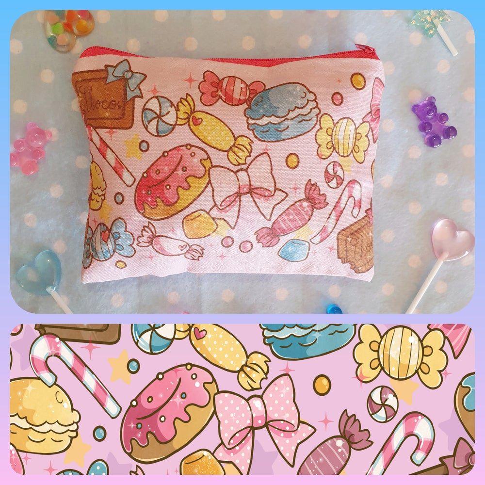 Image of Kawaii Zipper Pouches! (3 to Choose From!)