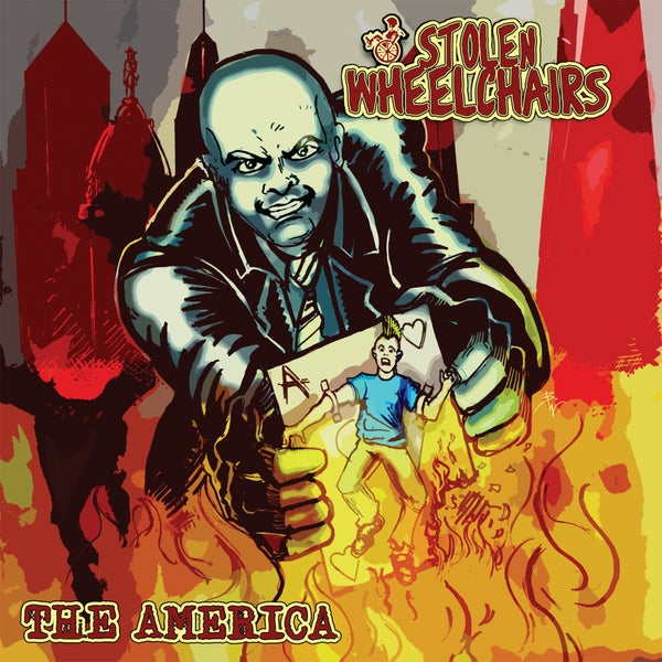 Image of *NEW* Stolen Wheelchairs - The America LP (second edition)