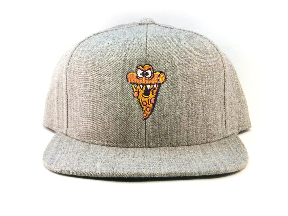 Pizza Monster Flat Brimmed Hat **2 color choices**