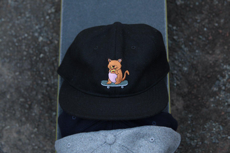 Image of Sk8 Kat Wool Cap