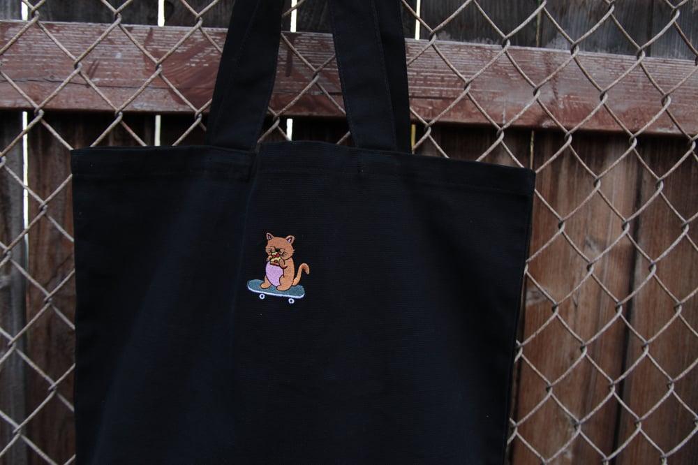 Image of Sk8 Kat Tote Bag