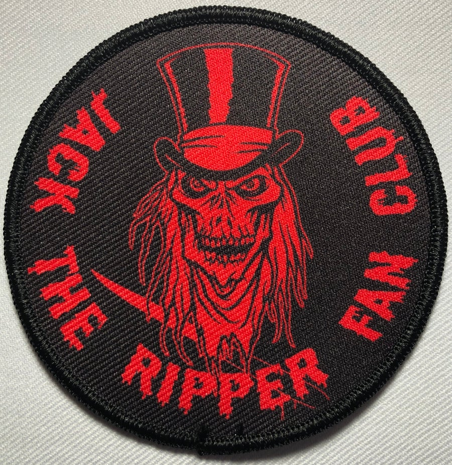 Image of JACK THE RIPPER FAN CLUB PATCH