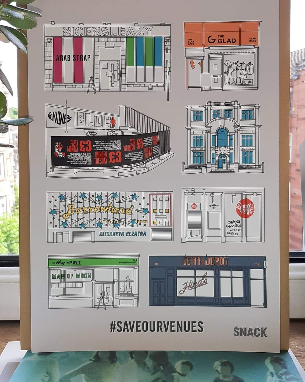 Save Our Venues: Iconic Scottish Venues print