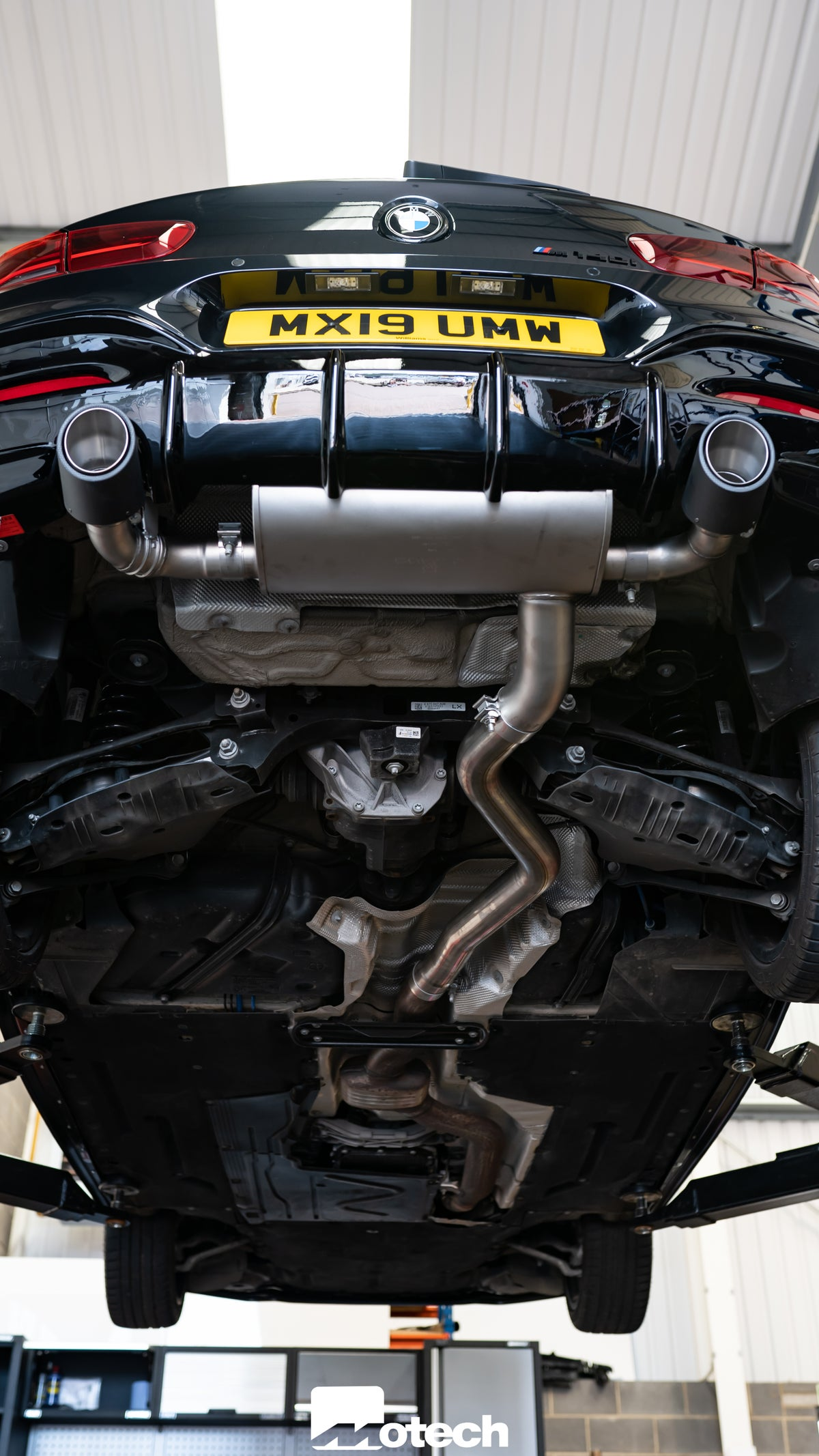 Image of BMW M140i Remus Exhaust (F20 F21) (2018+ PPF / OPF Filter)