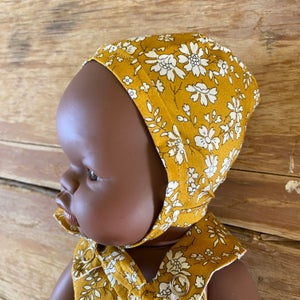 Image of Liberty bonnet to suit 32cm Miniland doll - Capel