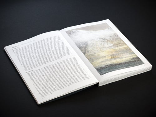 Image of Weightless - Tracing Landmarks - Stitch bookbinding (handmade)