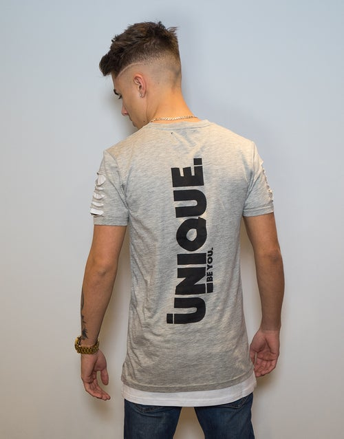 Image of DOUBLE RIPPED TEE