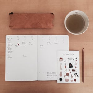 Image of Weekly planner & stickers