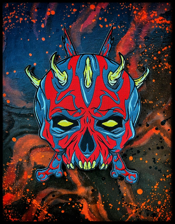 "Image of 12"" Darth Skaul patch"