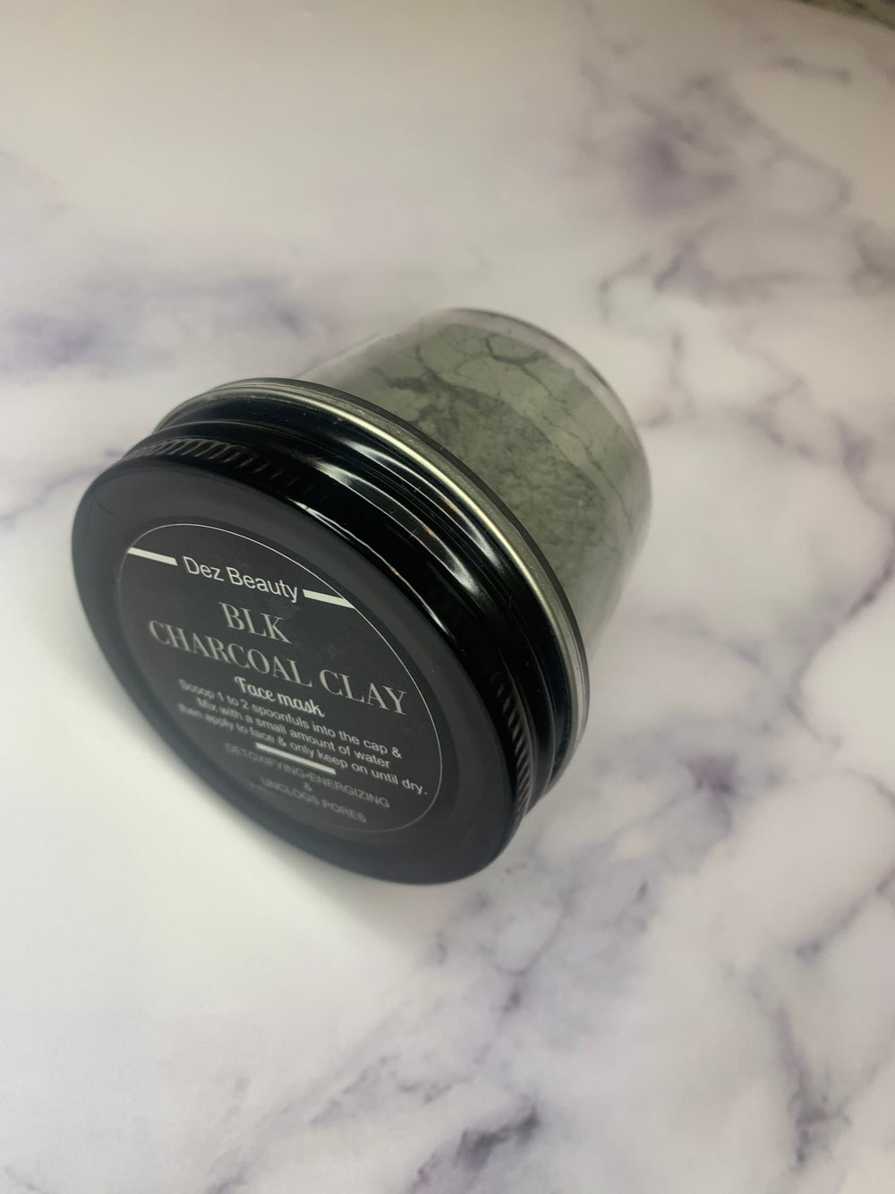 Image of BLK CHARCOAL CLAY FACE MASK