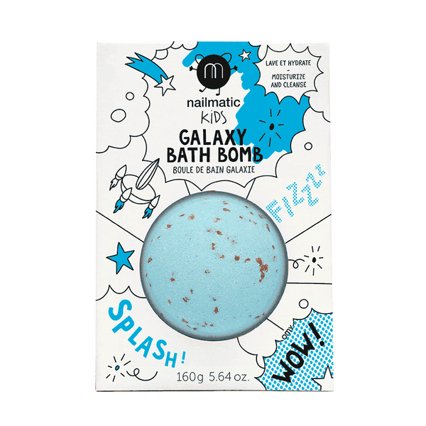 Image of Boule de bain effervescente rose, bleu ou galaxy