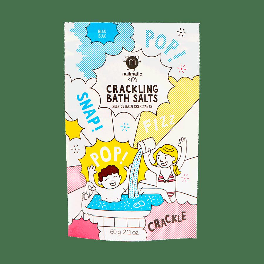 Image of Sels de bain crépitants rose ou bleu