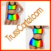 COLORFUL 2PIECE SWIMSUIT