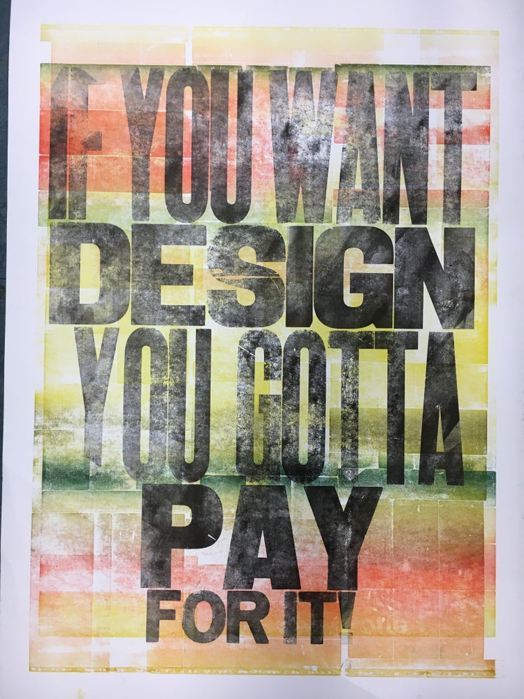 Image of One-off Typo Poster #1-067