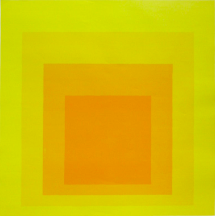 Image of Josef Albers Museum Lithograph Framed