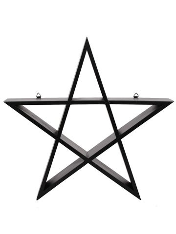 Image of PENTAGRAM Wall Art Shelf