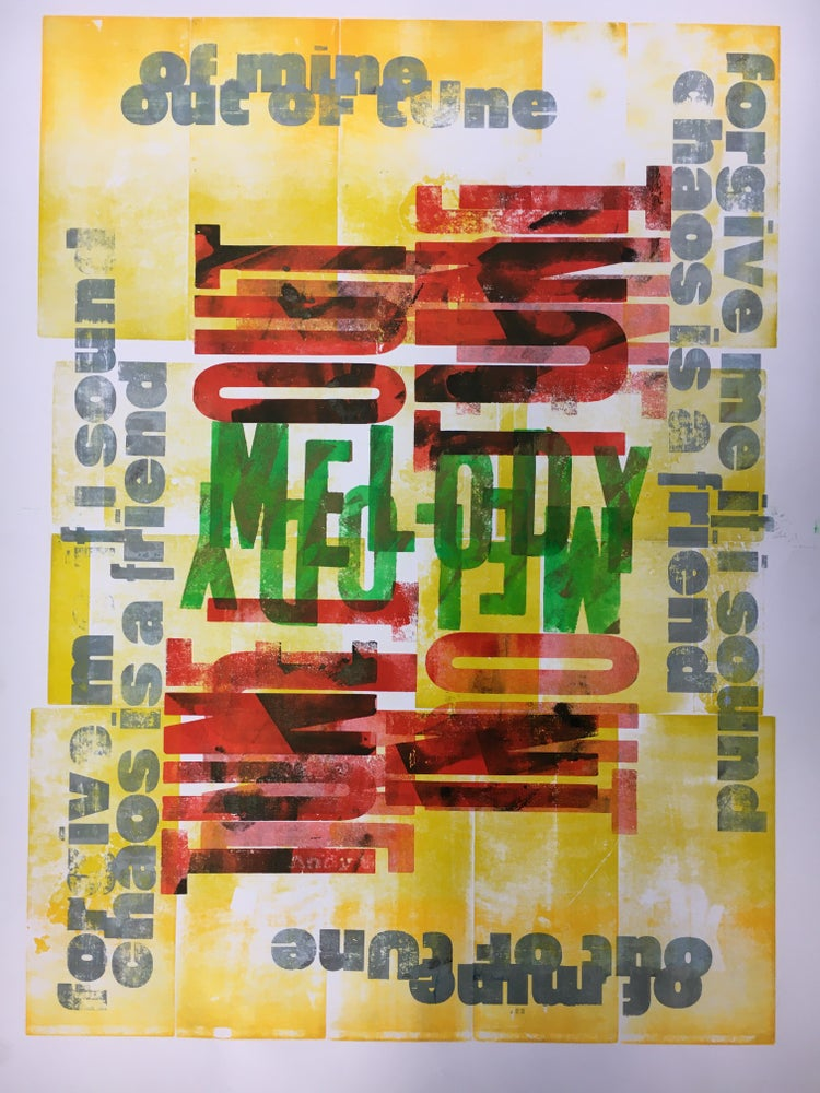 Image of One-off Typo Poster #1-068