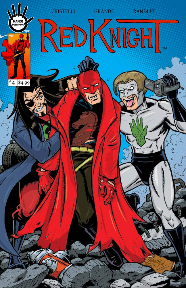 Image of Red Knight #4 Digital Version