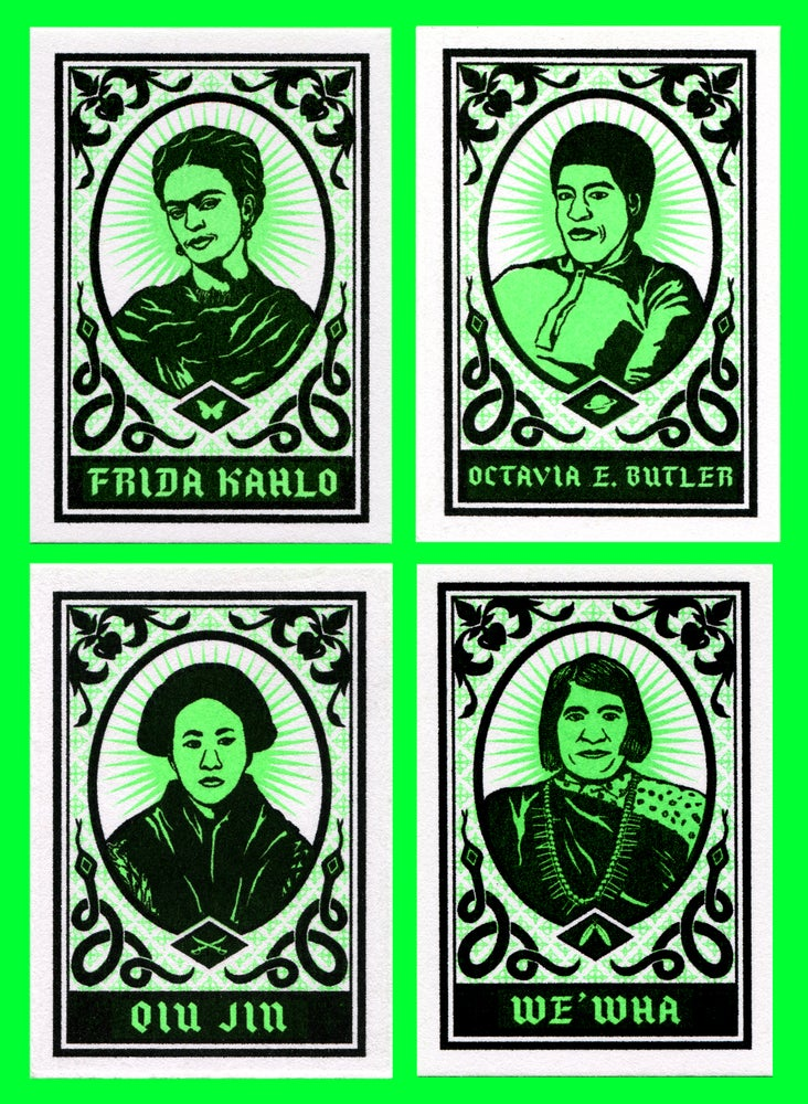 Image of Wicked Womxn Prayer Cards