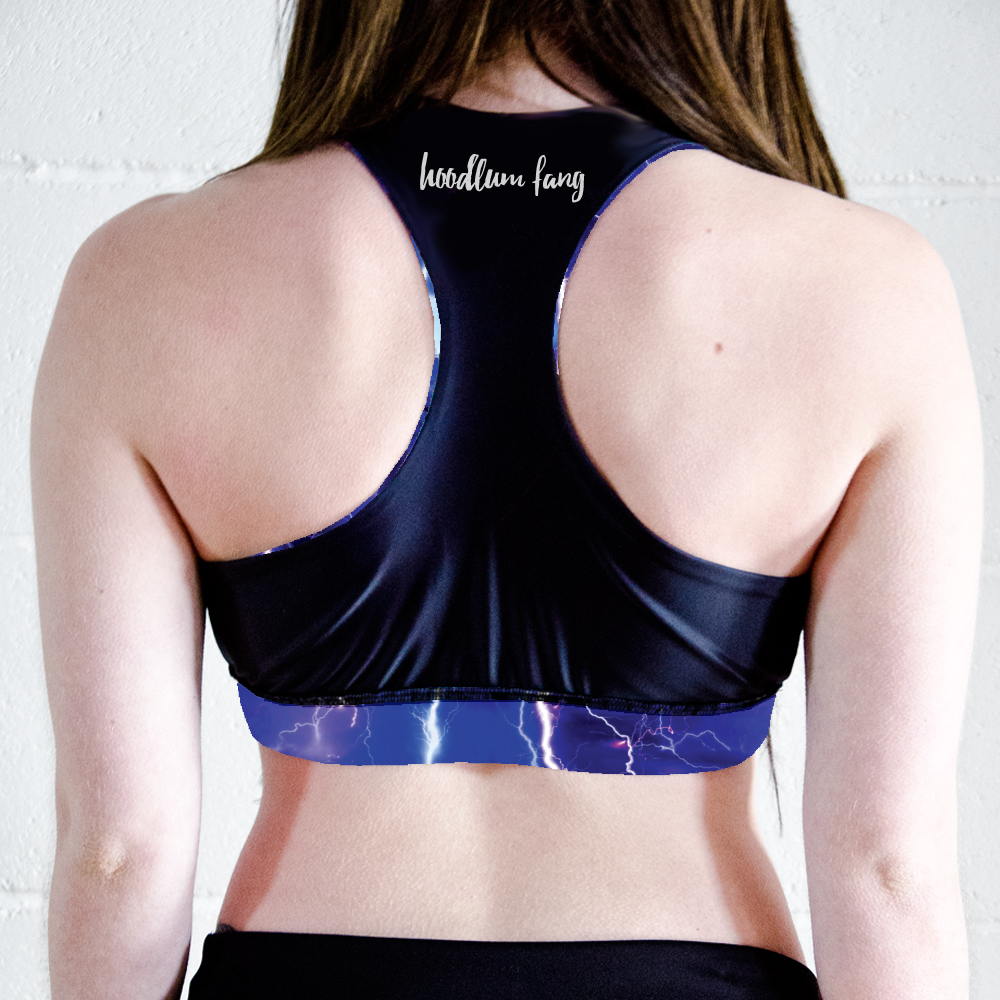 Image of Lightning Racer Back Crop Top