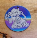 Image 3 of Disk Style Keychains