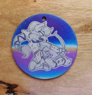 Disk Style Keychains