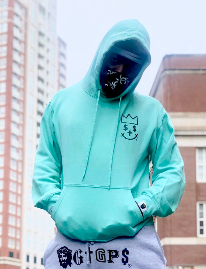 Image of GIGPS ALMIGHTY MINT HOOD