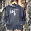 Ladies MT Script Hoodie -Charcoal