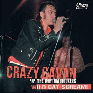 "Image of ""WILD CAT SCREAM"" CRAZY CAVAN 'N' THE RHYTHM ROCKERS  Vinyl Box set- VISIT CRAZYCAVAN.COM  STORE"