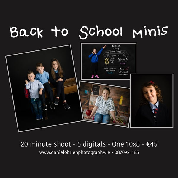 Image of Back To School Mini Sessions