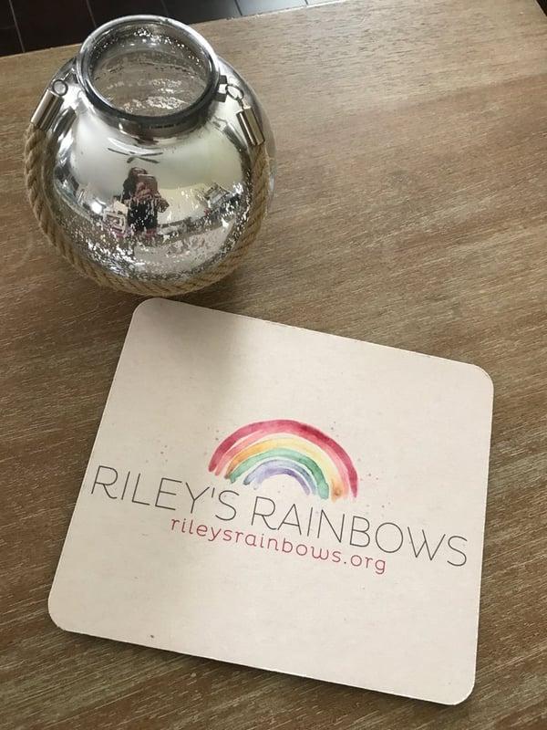 Image of Riley's Rainbows Neoprene Mousepad