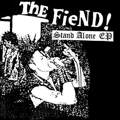 "Image of THE FIEND ""Stand alone E.P."" 7"" E.P."