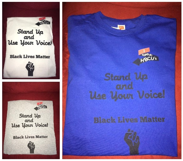 Image of Stand Up & Use Your Voice T-Shirt