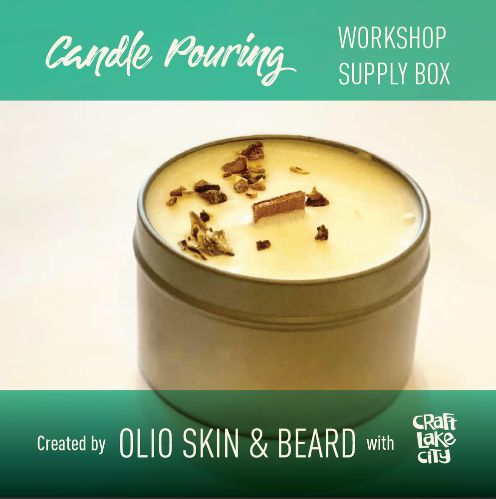 Image of Workshop Supply Box: Candle Pouring