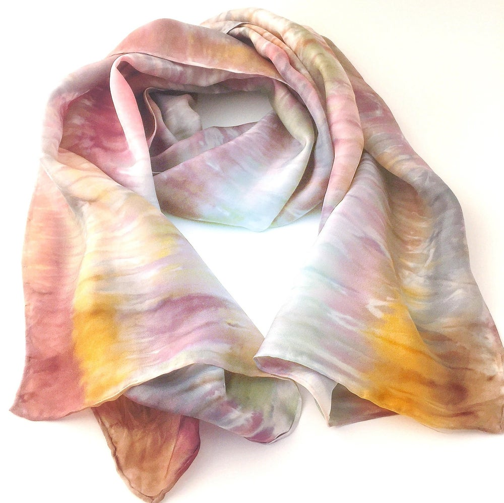 Image of Workshop Supply Box: Dyed Silk Scarf