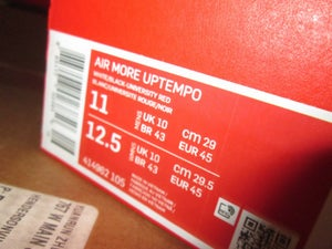 """Image of AIr More Uptempo """"White/Blk"""""""
