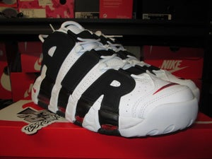 "Image of AIr More Uptempo ""White/Blk"""