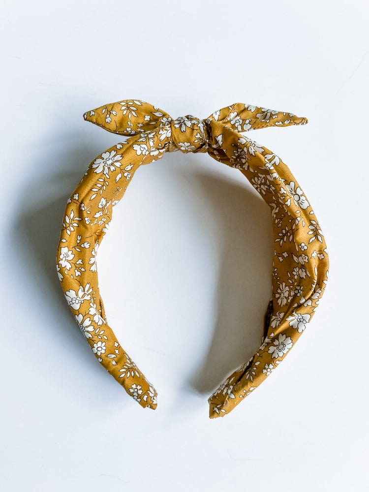 Image of Fall floral headbands