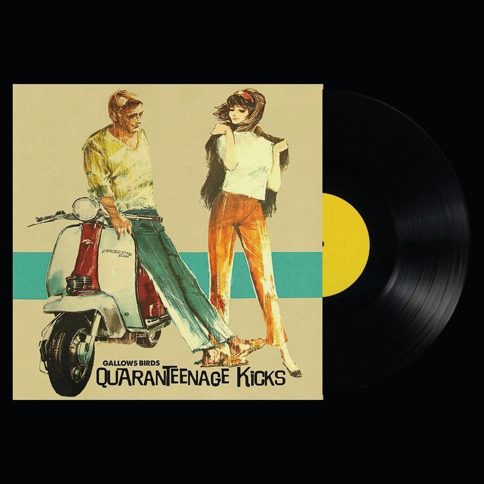"Image of Pre Order LP/CD: Gallows Birds ""Quaranteenage Kicks"""