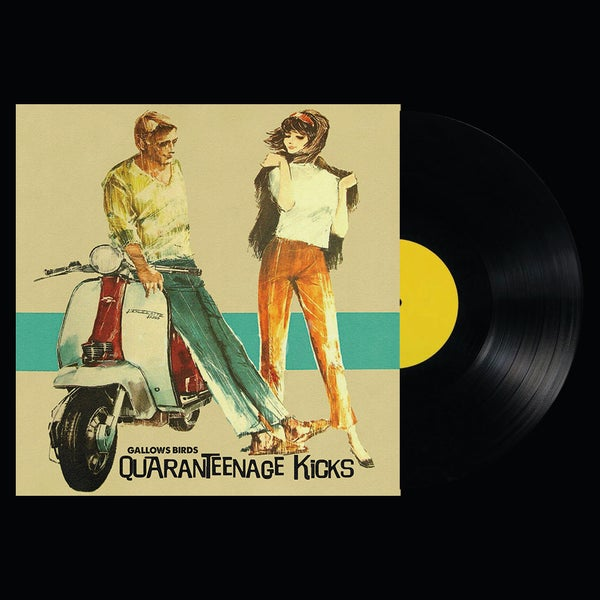 "Image of Pre Order LP/CD: Gallows Birds ""Quaranteenage Kicks"""