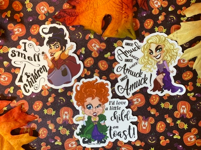 Image of Sanderson Sisters Prints & Stickers