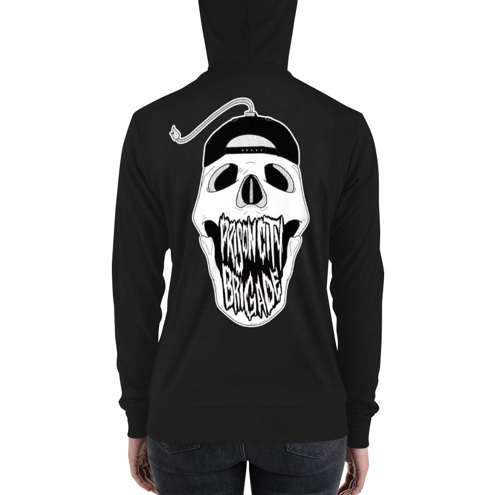 Unisex Boomskull Only Zip Up