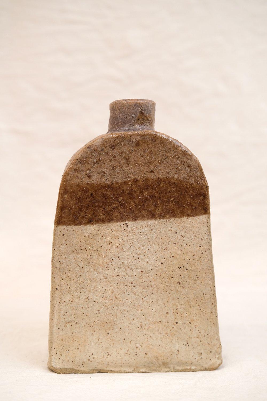 Image of  hand built vase - primitive #1